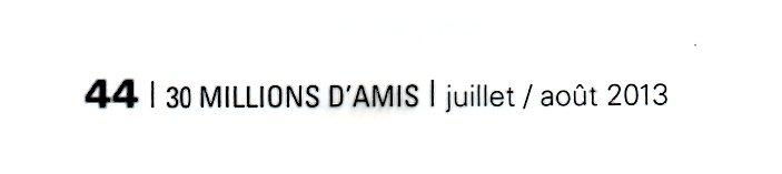 30 MILLIONS D'AMIS JUILLET AOUT 2013168