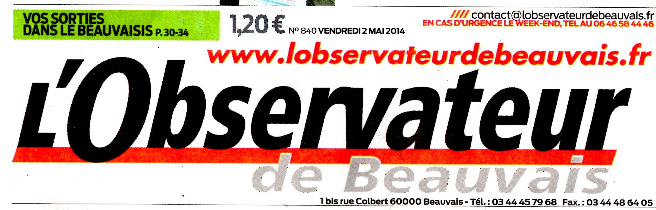L OBSERVATEUR DE BEAUVAIS 2 MAI 2014001