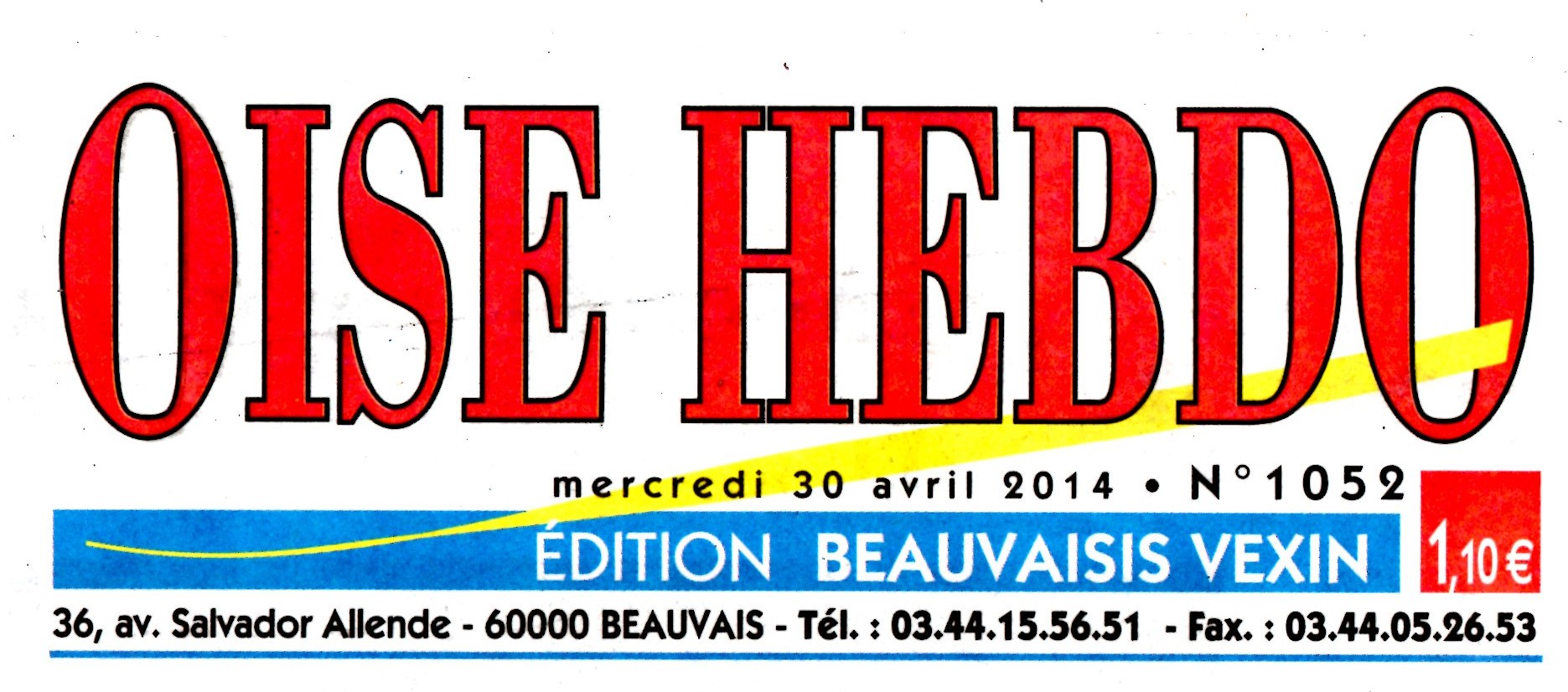 L OISE HEBDO 30 AVRIL 2014
