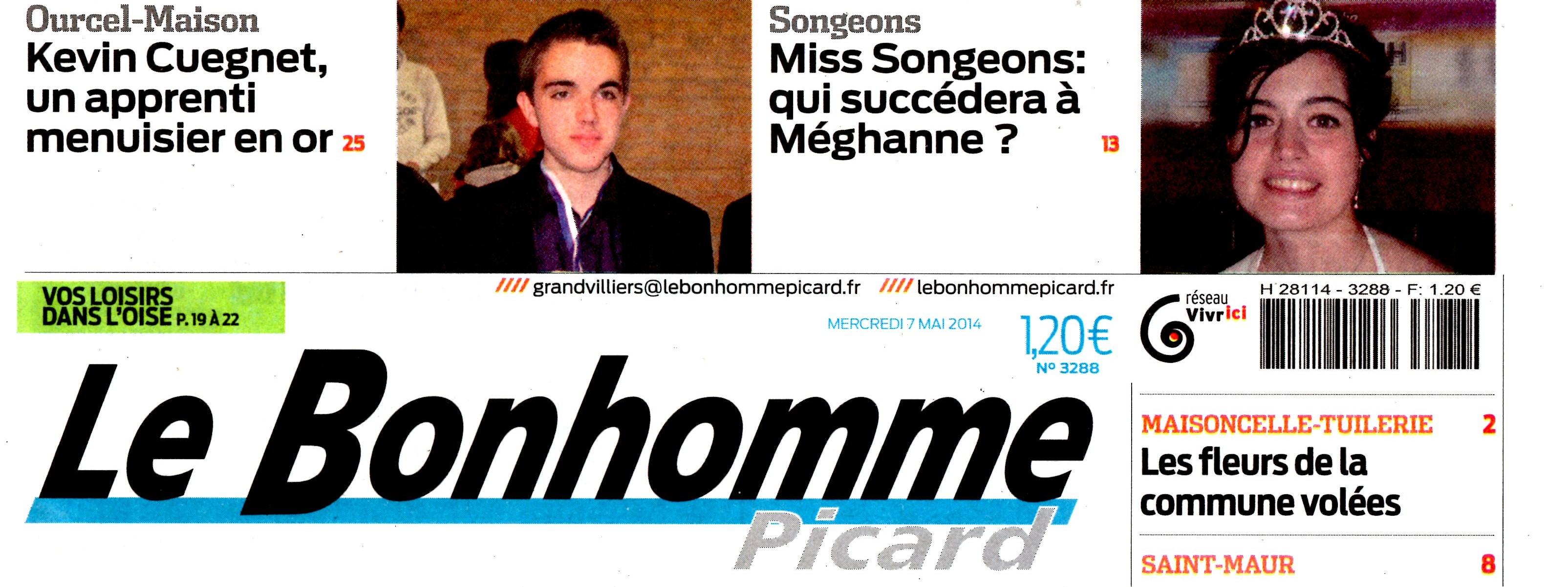 LE BONHOMME PICARD 7 MAI 2014