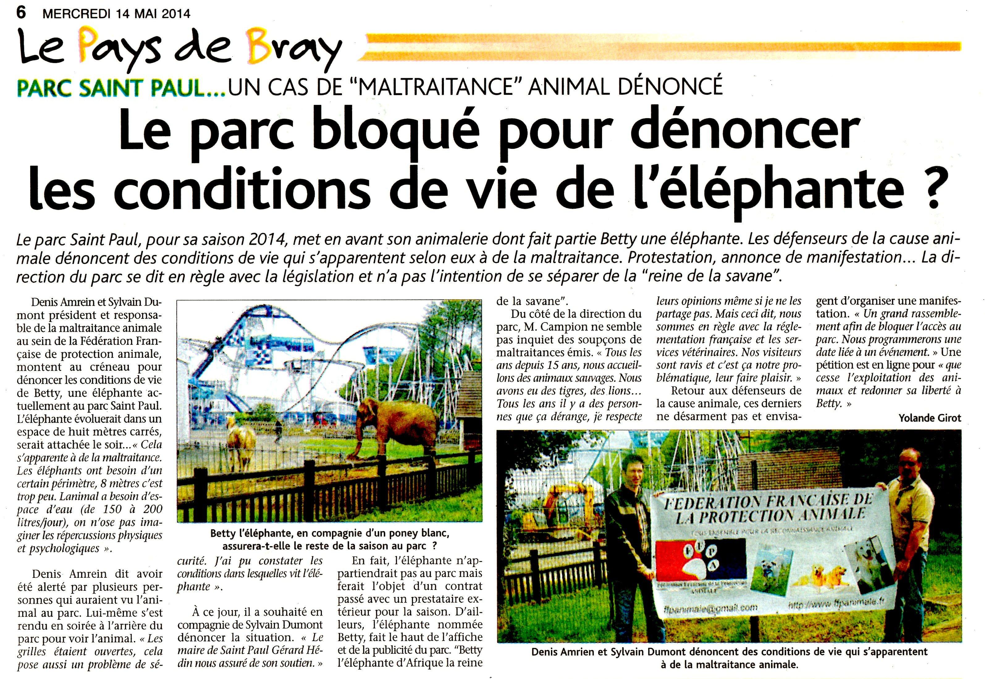 L'ECLAIREUR PAYS DE BRAY 14 MAI 2014 BETT003
