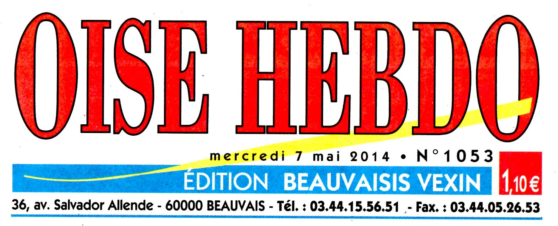L'OISE HEBDO BETTY 7 MAI 2014