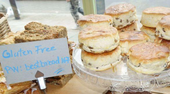 Mandatory Credit: Photo by Jeff Blackler/REX Shutterstock (4891346q) Baked goods in Romeo's gluten-free bakery, Islington London, Britain  /Rex_London_Britain_4891346Q//1507011749