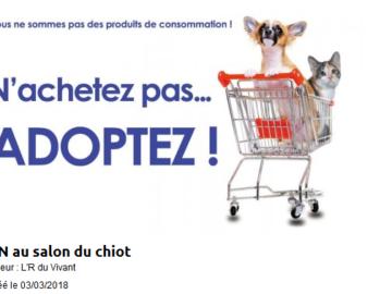 F d ration fran aise de la protection animale liberte - Salon du chiot brest ...